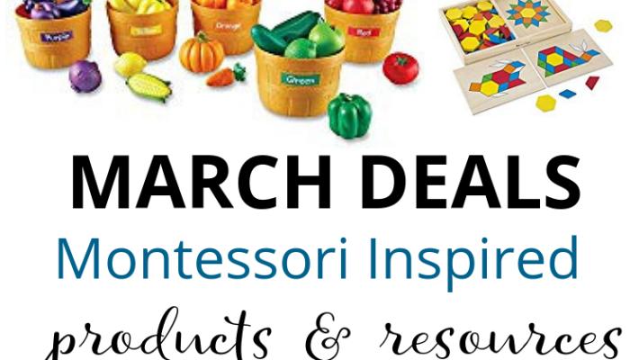 Montessori Deals on Amazon – March 2019