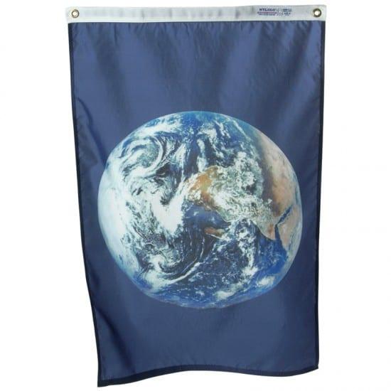 Montessori Services Earth Flag