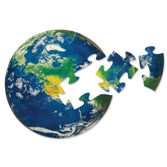 Montessori Services Earth Puzzle