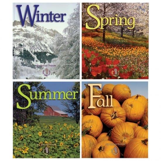 Montessori Services Four Seasons Book Set