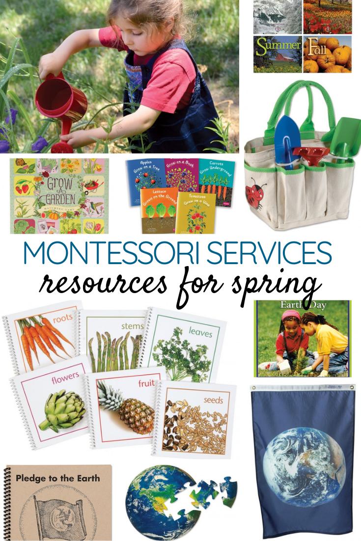 Montessori Services Spring Resources
