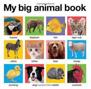 Montessori Toys - My Big Animal Book
