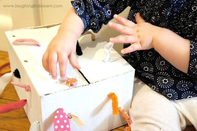 Montessori Toys for Babies - Tugging Box