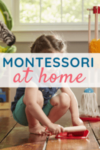 Montessori at Home Categories Cover