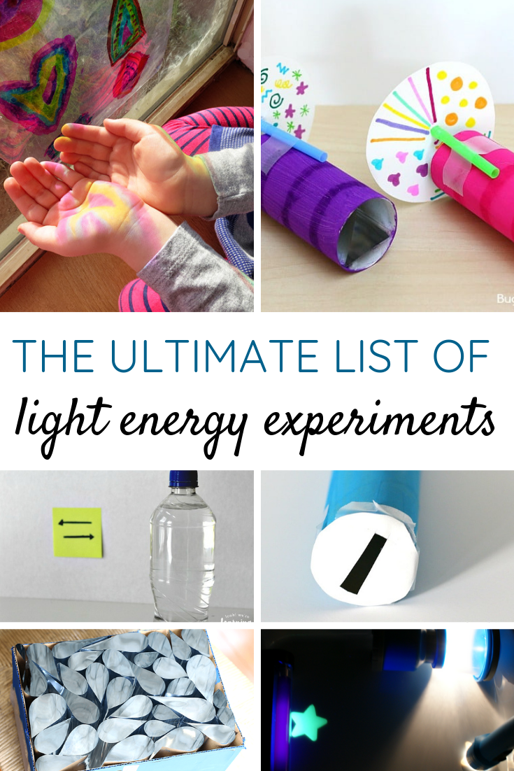 The Ultimate List of Light Energy Experiments