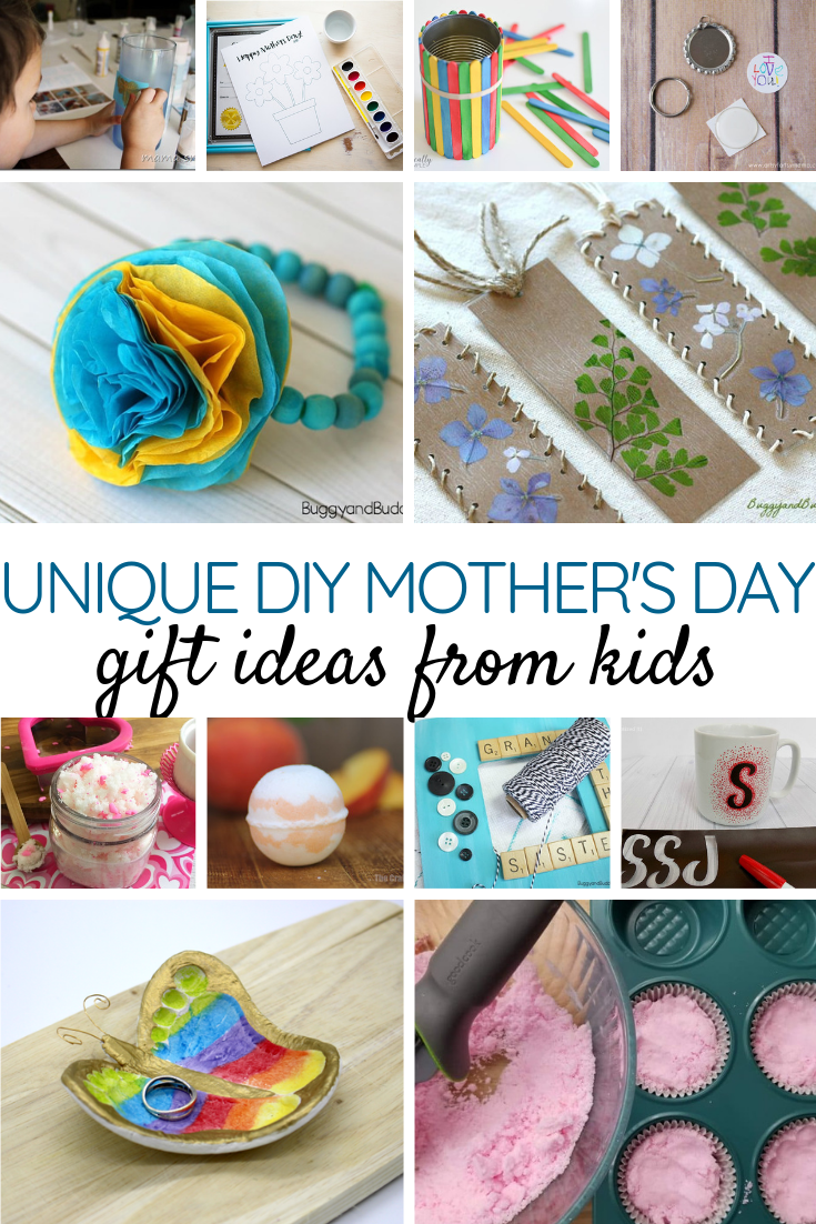 Unique DIY Mother's Day Gift Ideas from Kids