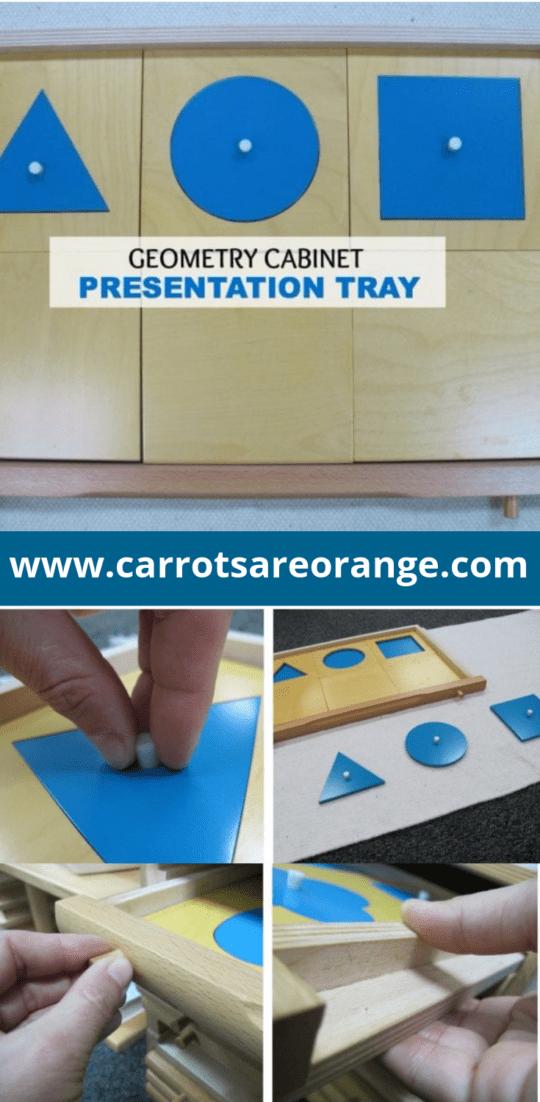 Geometric Cabinet Montessori Lesson