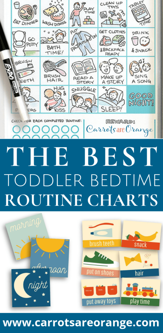 My All Time Favorite Toddler Bedtime Routine Charts