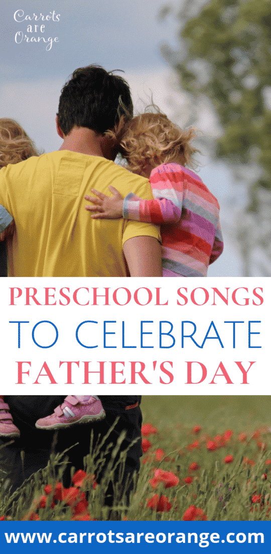 Super Fun Preschool Songs for Father's Day that Kids Love