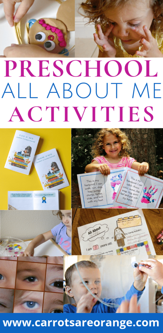All About Me Activities & Printables for Back to School