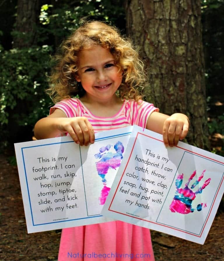 All about Me Activities and Crafts for Preschool