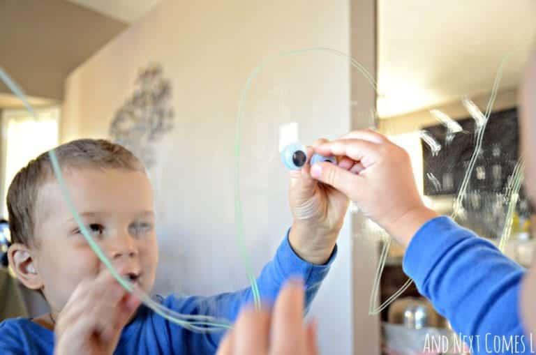 Body Tracing Activity for Preschoolers