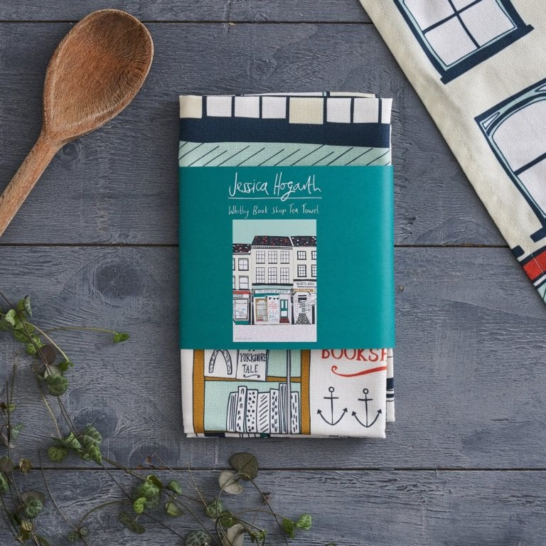 Book Lover Tea Towel
