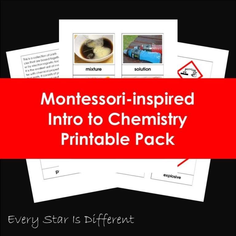 Introduction to Chemistry for Preschoolers