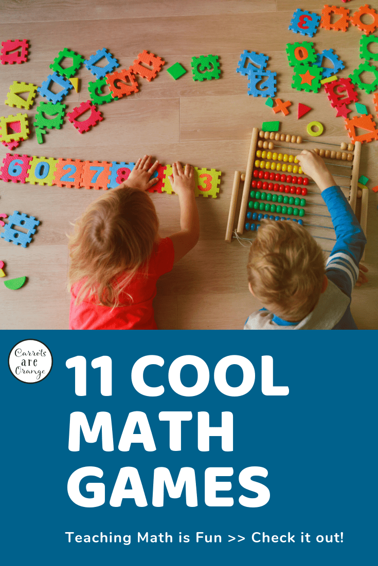 pinterest photo for 11 cool math games that engage kids in fun learning