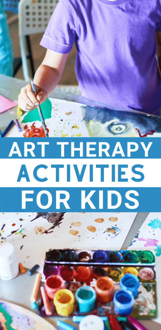 Check out the 101 on Art Therapy for Kid! Including Art Therapy ideas and activities to explore at home & in the classroom!