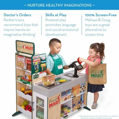 Melissa and Doug Fresh Mart Grocery