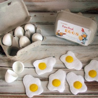Pretend Play Eggs