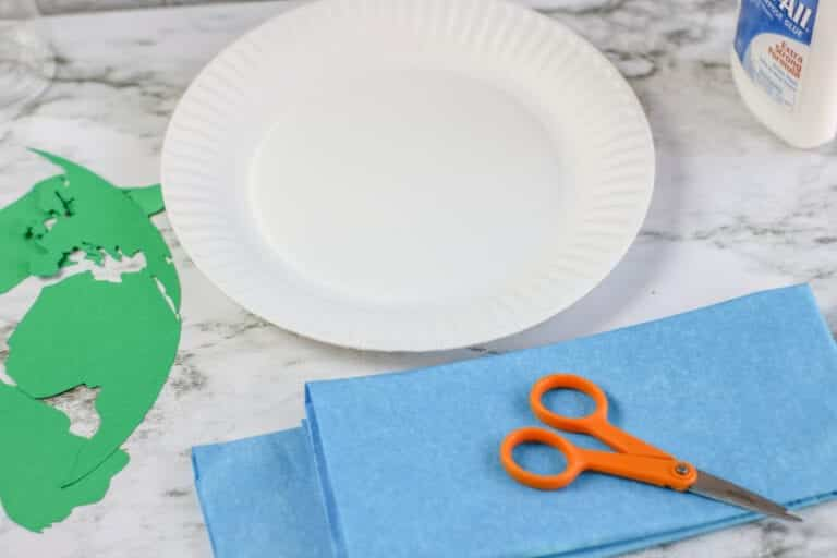 Earth Day Paper Plate Craft
