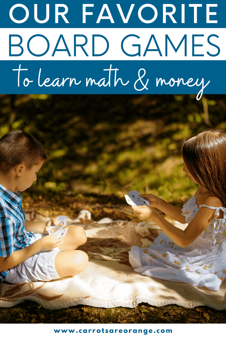Board Games to Learn Money and Math